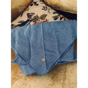 Kittenish blue bandana